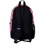 Children's Pink Ponies Backpack with Side Pocket