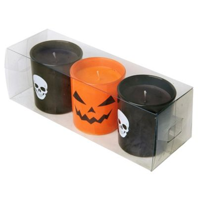 Tesco Halloween Candles 3 Pack