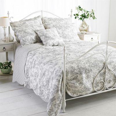 Riva Home Canterbury Tales Grey Bedspread - Single