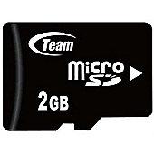 Team Group 2GB Micro SD MicroSD memory card 3.6V Black