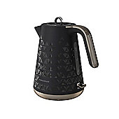 Morphy Richards 108251 Prism Cordless Jug Kettle, 1.5L, 3000W (Black)