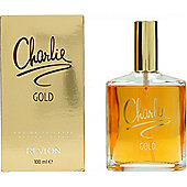 Revlon Charlie Gold Eau de Toilette (EDT) 100ml Spray For Women