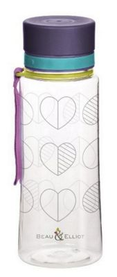 Beau & Ellliot Hydration Water Bottle, Confetti Outline 73524