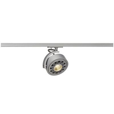 Kalu Track Lamp Spotlight Head Silvergrey Including 1 Circuit Adaptor