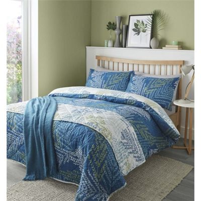 Fusion Alena Teal Duvet Cover Set - Single