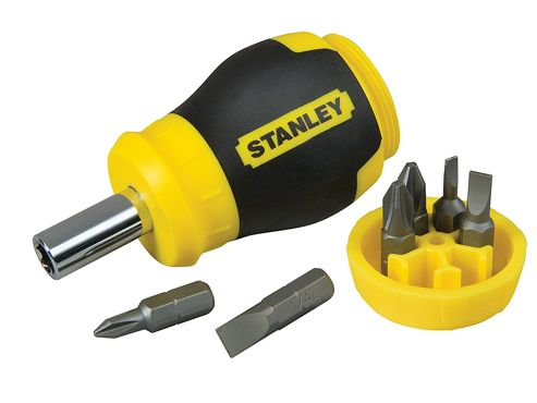 Stanley Stubby Screwdriver - Non Ratchet