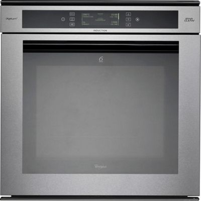 Whirlpool AKZM8920GK 600mm Built-in Single Electric Oven, Stainless Steel