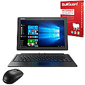 """Lenovo Miix 510 - 80U1000PUK - 12.2"""" 2-in-1 Tablet With Keyboard Intel Core i5-6200U 8GB 256GB SSD with Internet Security & Mouse"""