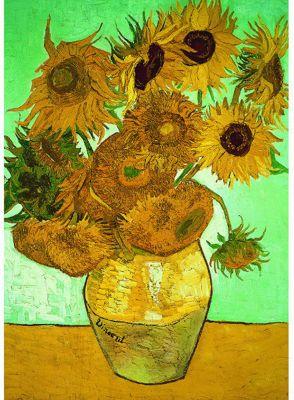 Vincent Van Gosh - Sunflowers - 500pc Puzzle