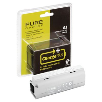 Pure ChargePAK A1 rechargeable battery pack - White