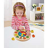 ELC Shape Sorting Clock