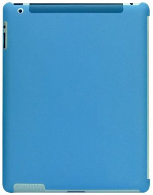 iGo TPU Case for iPad 2 3 & 4 - Blue Space to attach your Apple Smart Cover - IGO-AC05138-0001