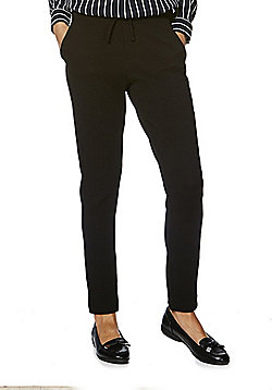 JDY Textured Tailored Joggers - Black