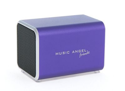 Music Angel Friendz Portable Speaker Purple