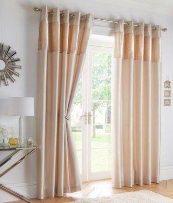 Boulevard Oyster - Eyelet Curtains