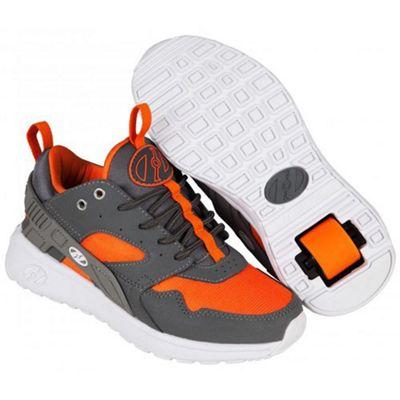Heelys Force Dark Grey/Grey/Orange Heely Shoe JNR 13