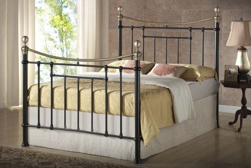 Birlea Bronte Metal Bed Frame - King - Black