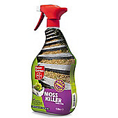 Bayer Garden Moss Killer - Ready To Use Fast Killer of Moss - 1L