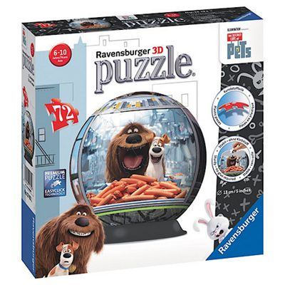 Ravensburger Secret Life of Pets 72 Piece Puzzleball