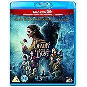 Beauty & The Beast (Live Action) 3D Blu-Ray