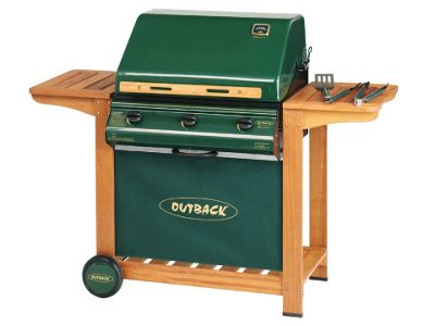 Outback 370518 Hunter Gas BBQ 3 Burner