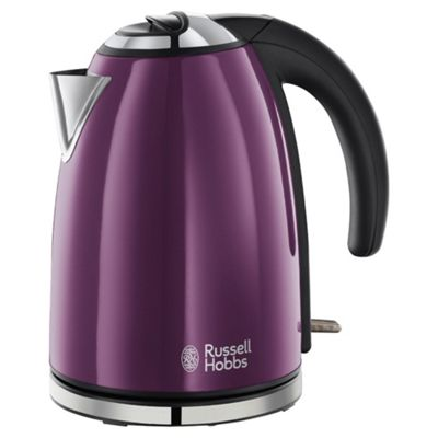 buy russell hobbs 18945 jug kettle purple from our jug. Black Bedroom Furniture Sets. Home Design Ideas