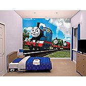 Walltastic Thomas & Friends Wall Mural 8 ft x 10 ft