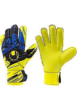 Uhlsport Speed Up Now Soft Supportframe Junior Goalkeeper Gloves - Orange