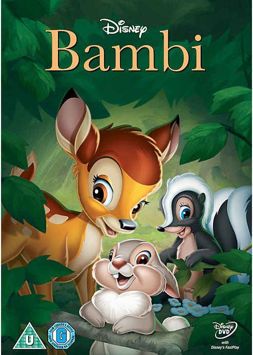 Bambi Diamond Edition DVD