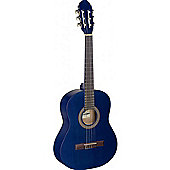 Stagg C430 3/4 Size Classical Guitar - Blue - with 6 Months Free Online Lessons