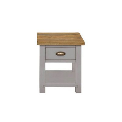 Cotswold Grey Painted Lamp Table