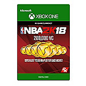 NBA 2K18: 200,000 VC DIGITAL CARDS (Digital Download Code)