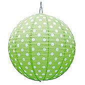 Happy Giant Paper Lantern - Lime