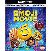 The Emoji Movie Bluray & 4K