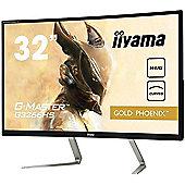 iiyama 31.5 Gold Phoenix G-MASTER G3266HS-B1 Widescreen Curved FreeSync Gaming Monitor