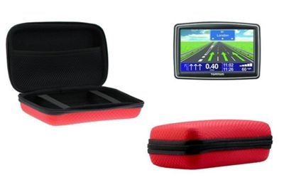 Navitech Red Hard Carry Case Cover For The TomTom GO 6200