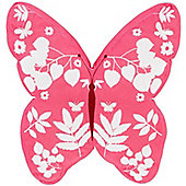 Pink Butterfly Shaped Cushion