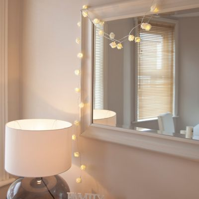 Bathroom Lights Tesco buy 30 white rose indoor led fairy lights from our all christmas