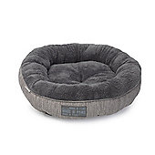 Grey Hessian Cat Bed