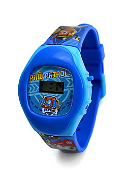 Paw Patrol 'Chase & Marshall' Boys Digital Metal Tin Gift Wrist Watch