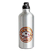 Star Wars: The Force Awakens Personalised Silver Water Bottle