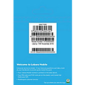 Lebara SIM including first month bundle