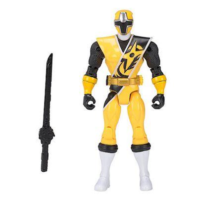 Power Rangers Ninja Steel 12.5cm Action Figure -Yellow Ranger