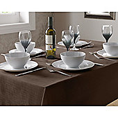 Select Round Tablecloth 90cm - Chocolate