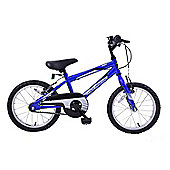 "Professional Chaos 16"" Wheel Mountain Bike Boys Blue"