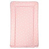 Babywise Baby Changing Mat - White Polka Dots (Pink)