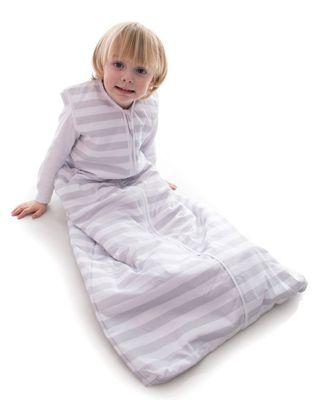 Snoozebag Baby Sleeping Bag 18-36 Months Grey Stripe 2.5 Tog