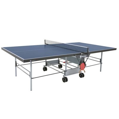 Sponeta Sportline Rollaway Indoor Table Tennis Table Blue