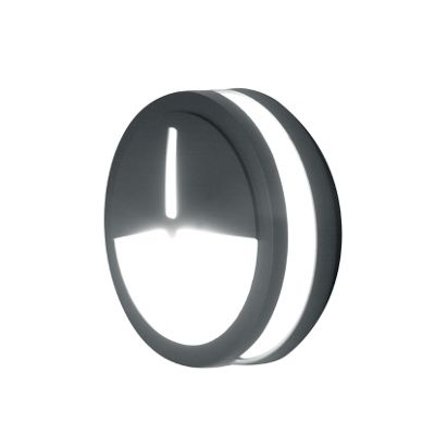 Lutec Mtitan 3173S Aluminium Small Round Wall Light