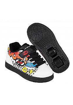 Heelys Propel 2.0 Navy/Pink/Light Blue/Confetti Kids Heely Shoe - White